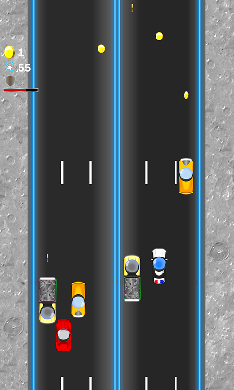 Moon Traffic Racer Screenshot