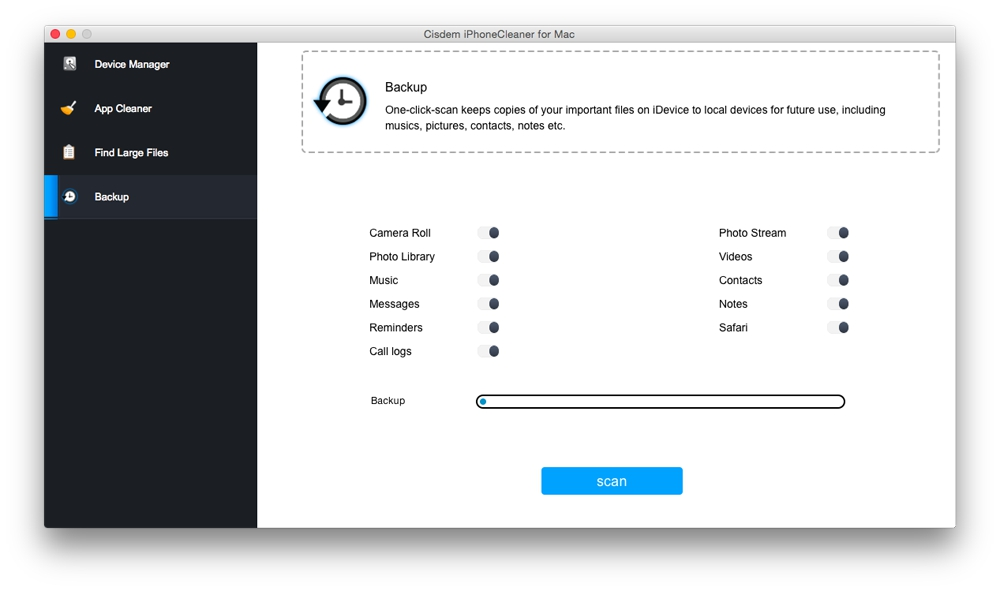 Cisdem iPhoneCleaner for Mac Screenshot 4