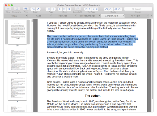 Cisdem DocumentReader for Mac Screenshot 5