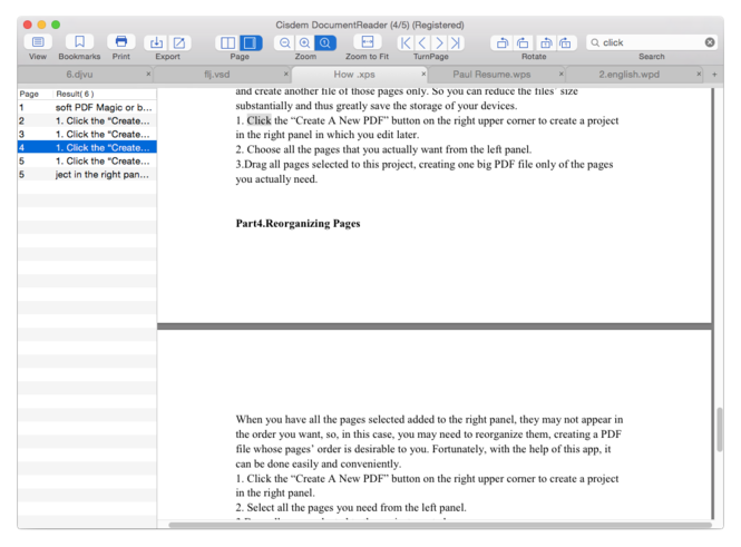 Cisdem DocumentReader for Mac Screenshot 2