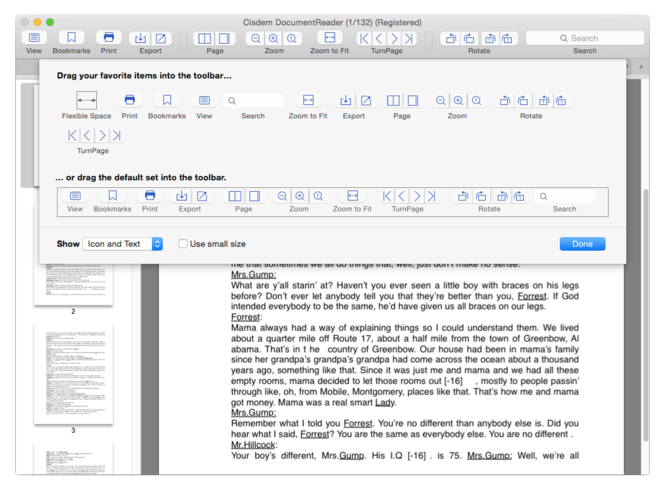 Cisdem DocumentReader for Mac Screenshot 3