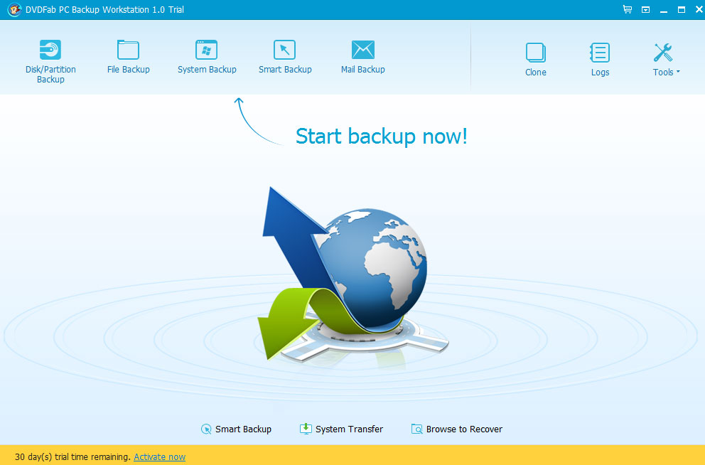 DVDFab PC Backup Screenshot 4