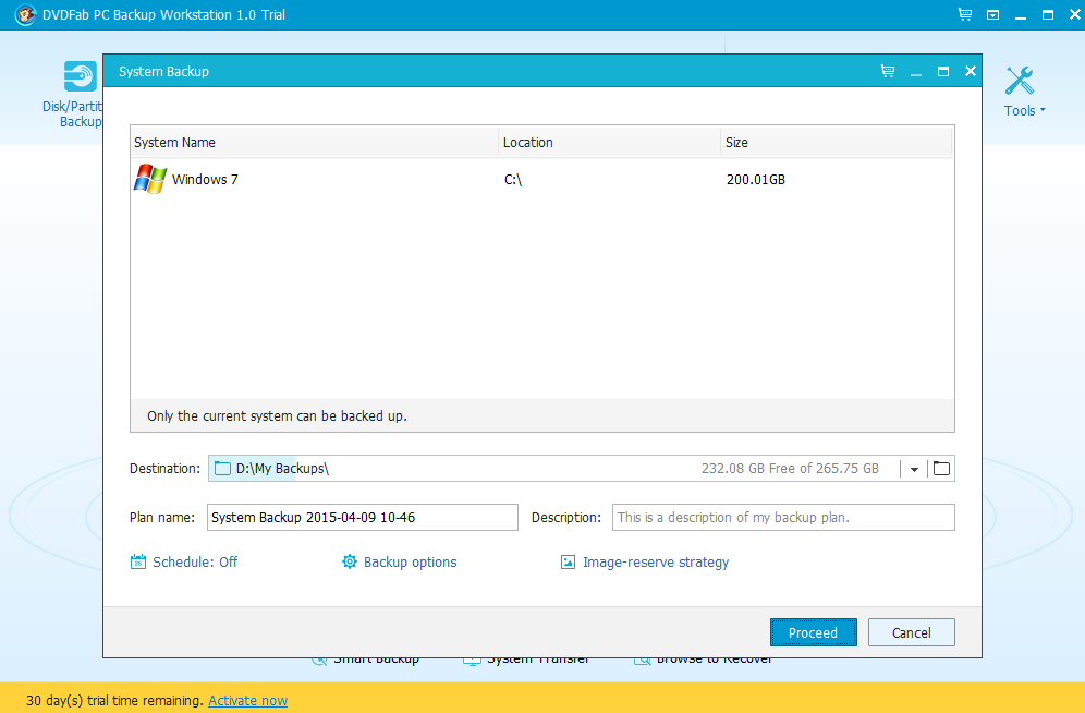 DVDFab PC Backup Screenshot 5