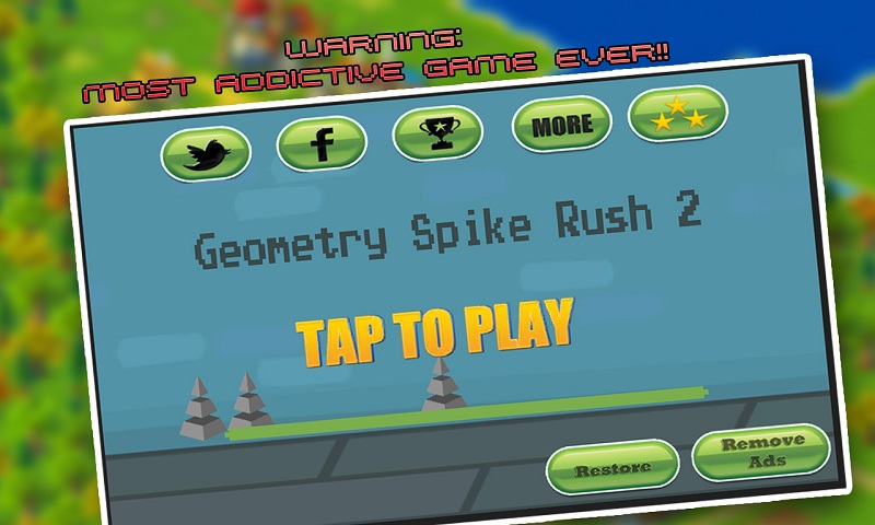 Geometry Spike Rush 2 Screenshot