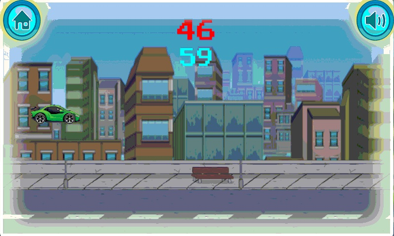 Jumpy Car addicting game Screenshot 5