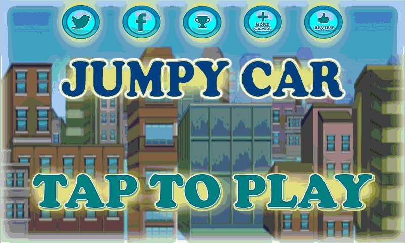 Jumpy Car addicting game Screenshot 1