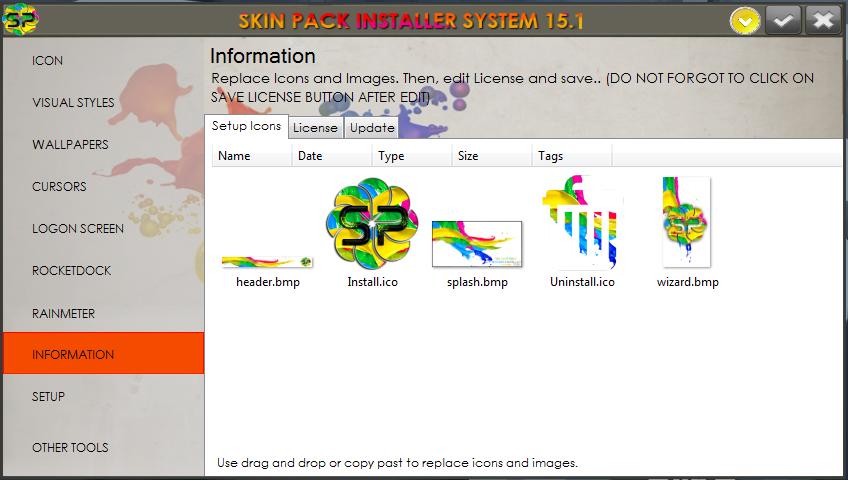 Skin Pack Installer System 15.1.0 Screenshot 9