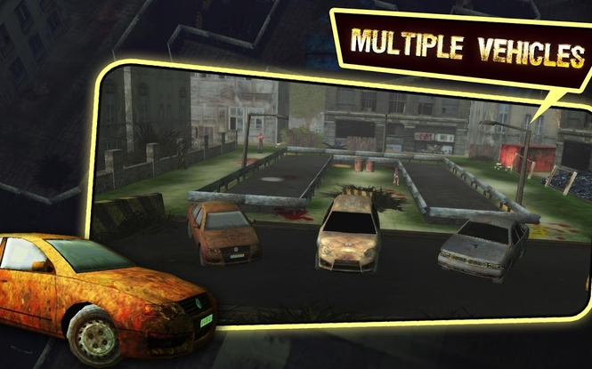 Zombie Car Parking Simulator - Stupid Dead Drive Challenge Screenshot 4