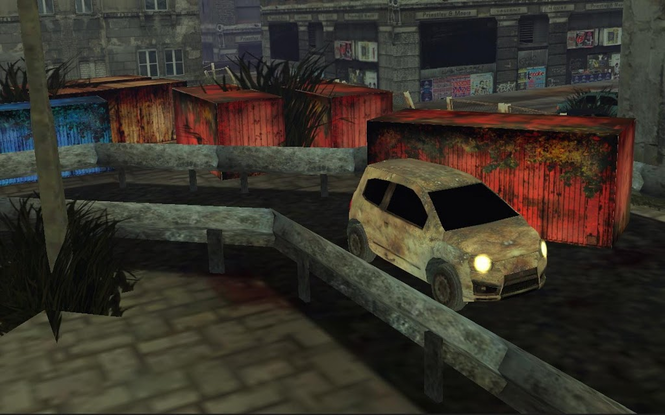 Zombie Car Parking Simulator - Stupid Dead Drive Challenge Screenshot 3