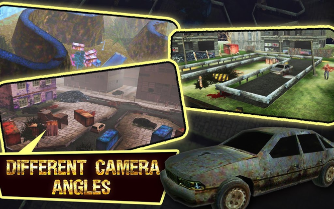 Zombie Car Parking Simulator - Stupid Dead Drive Challenge Screenshot 1