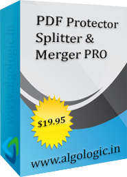 PDF Protector, Splitter and Merger PRO Screenshot 1