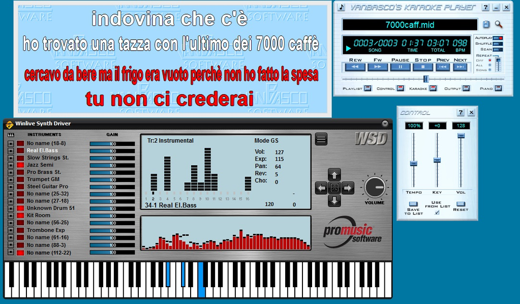 WINLIVE SYNTH DRIVER Screenshot 3