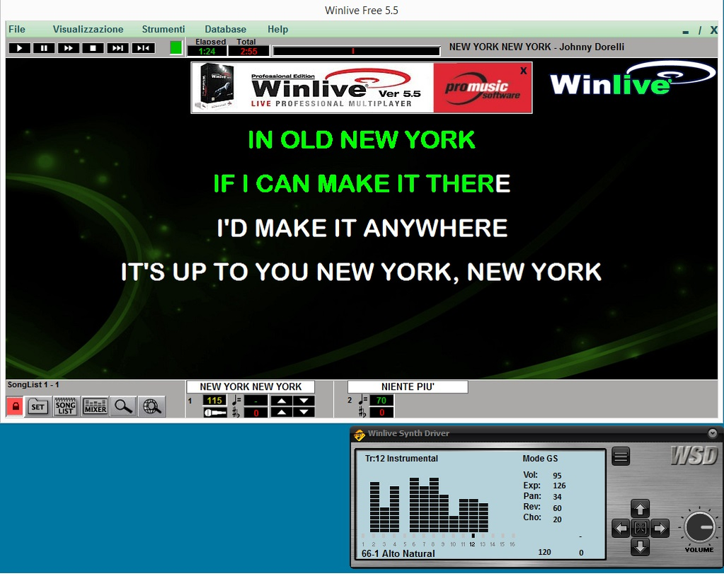 WINLIVE SYNTH DRIVER Screenshot 4