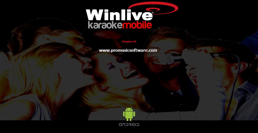 WINLIVE KARAOKE MOBILE Screenshot 3
