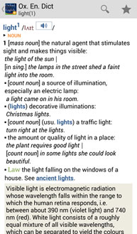 Oxford Dictionary of English with Audio Screenshot 4