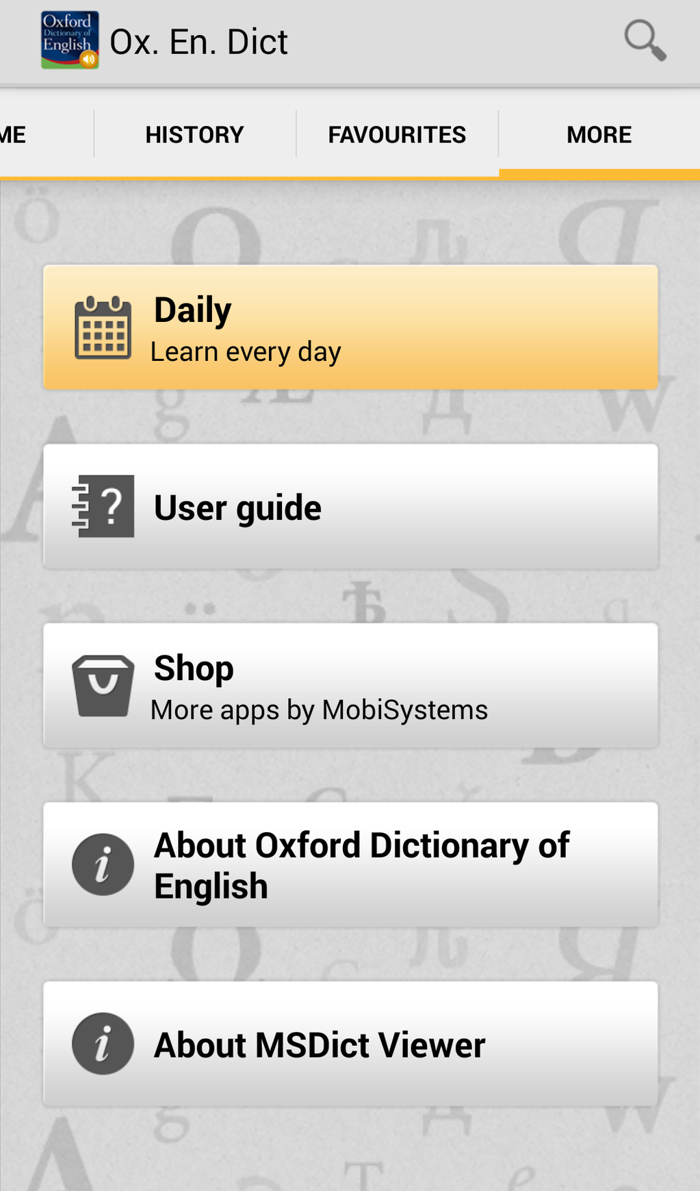 Oxford Dictionary of English with Audio Screenshot 5