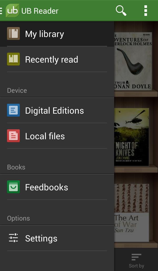 UB Reader Screenshot 5