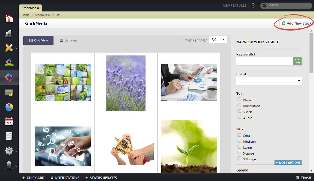 Kaizen Stock Media Screenshot 5