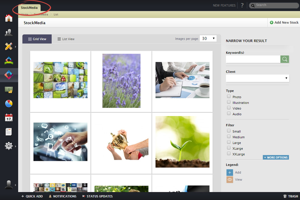 Kaizen Stock Media Screenshot 1