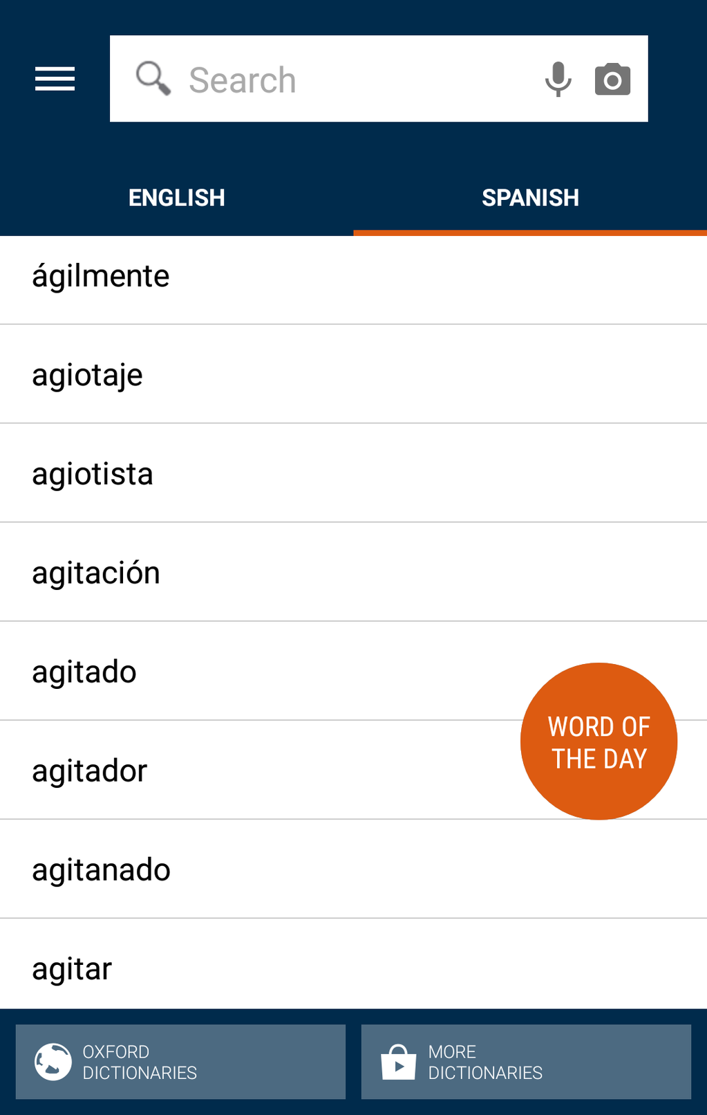 Oxford Spanish Dictionary Screenshot 19
