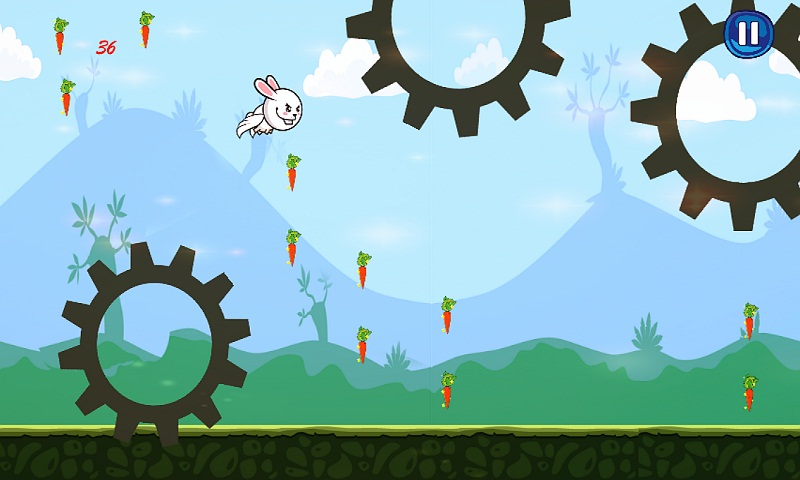 Bunny Flap : Eat The Carrots Screenshot 7