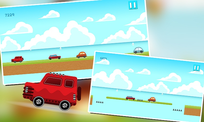 Car Racing: Ocean Rush Screenshot 1
