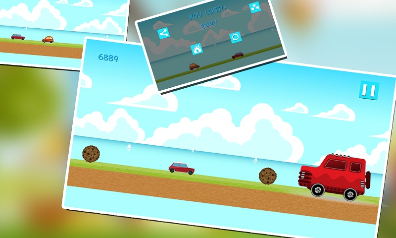 Car Racing: Ocean Rush Screenshot 2