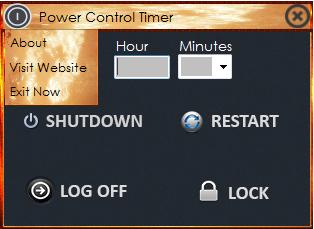 Power Control Timer 1.0 Screenshot 2