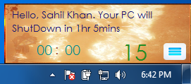 Power Control Timer 1.0 Screenshot 3