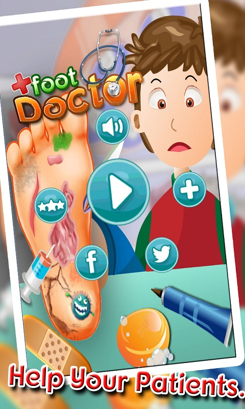 Foot Doctor Kids Casual Game Screenshot 5