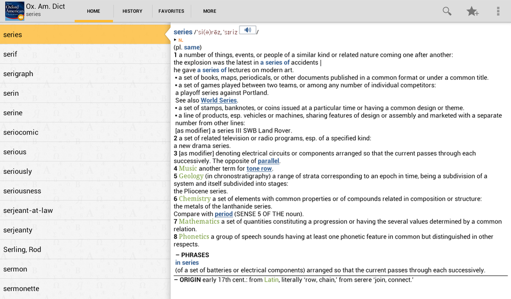 New Oxford American Dictionary with Audio Screenshot 14