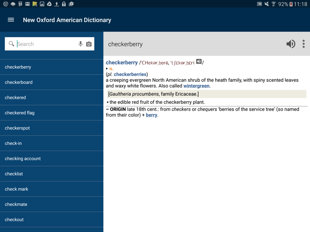 New Oxford American Dictionary with Audio Screenshot 4