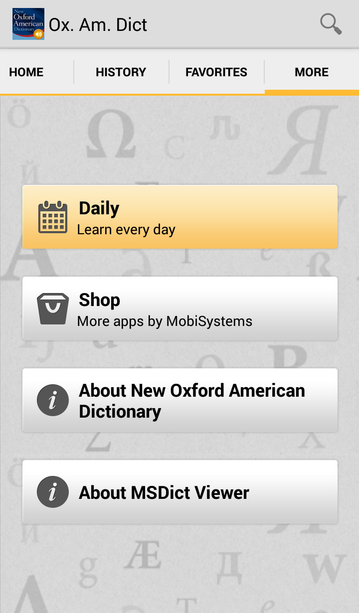 New Oxford American Dictionary with Audio Screenshot 12