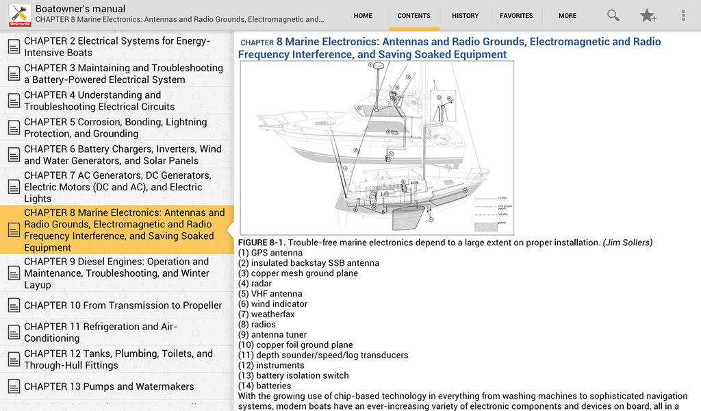 Boatowner's Mechanical and Electrical Manual Screenshot 8