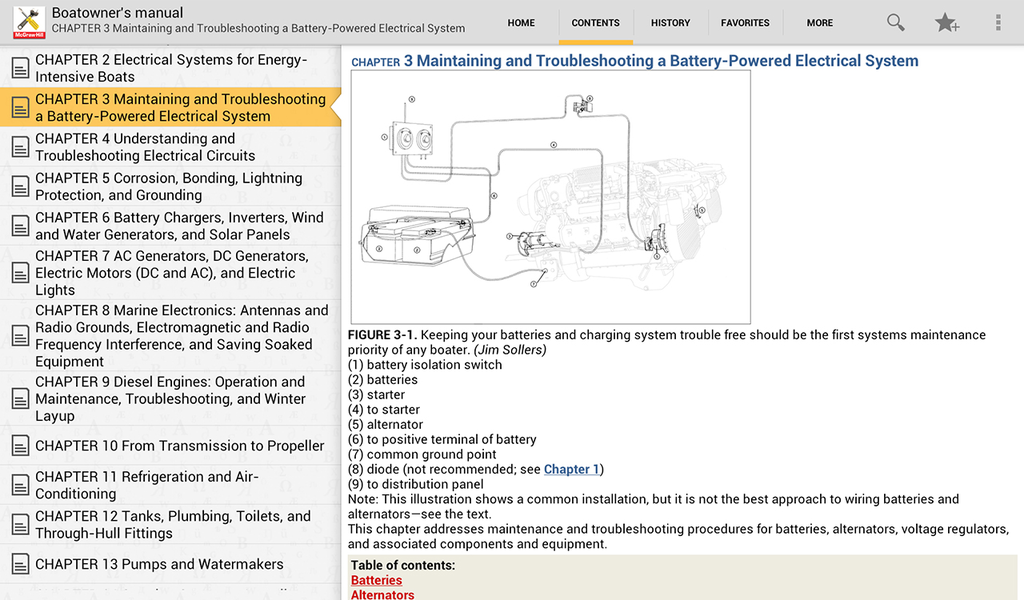 Boatowner's Mechanical and Electrical Manual Screenshot 6