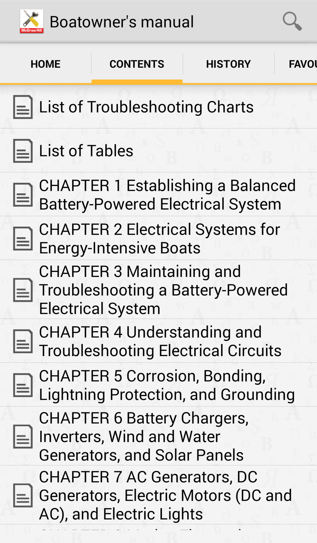 Boatowner's Mechanical and Electrical Manual Screenshot 4