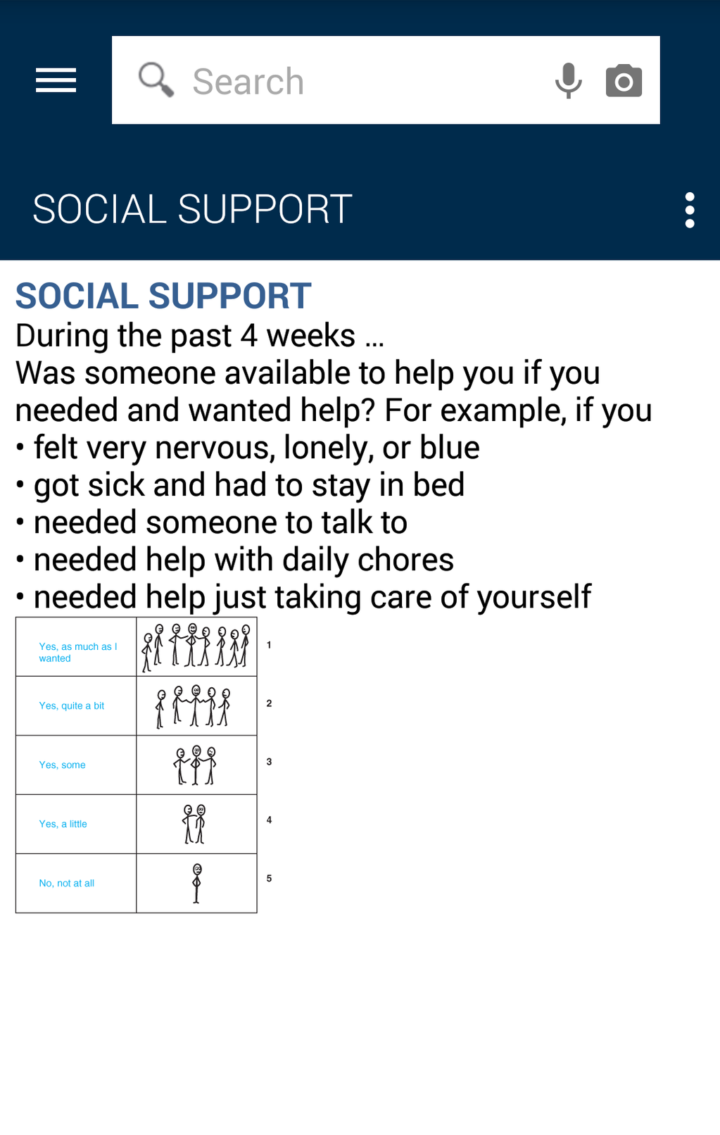 Common Symptom Guide Screenshot 15