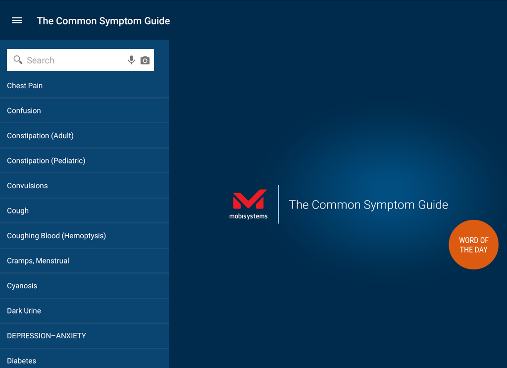 Common Symptom Guide Screenshot 17