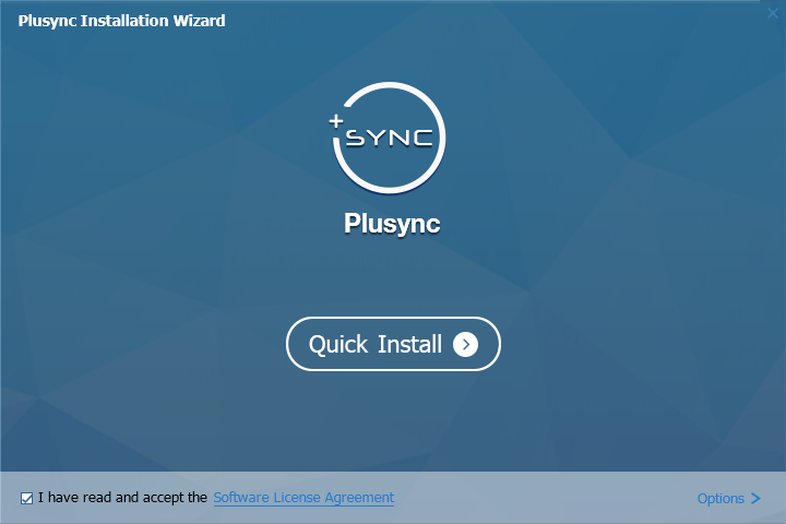 Plusync Screenshot 1