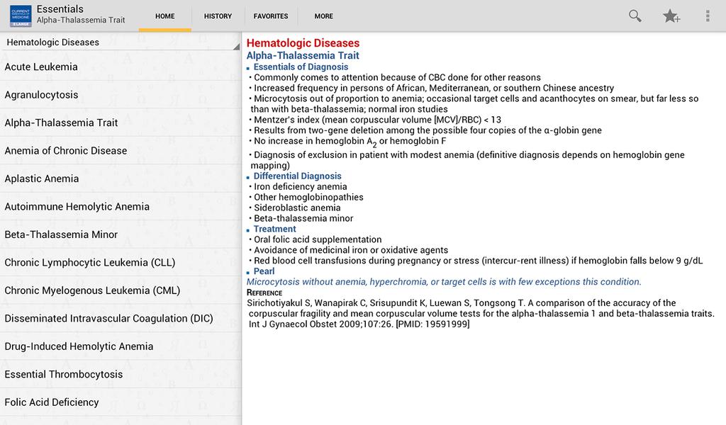 Current Essentials of Medicine Screenshot 7