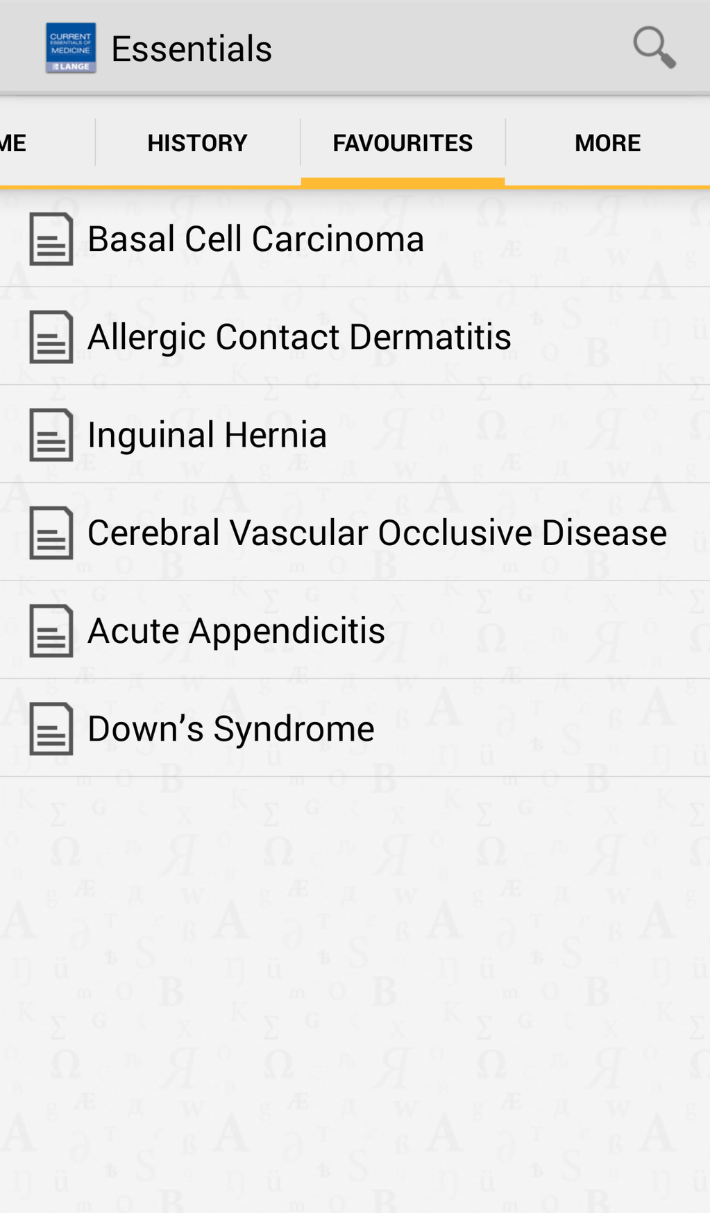 Current Essentials of Medicine Screenshot 4
