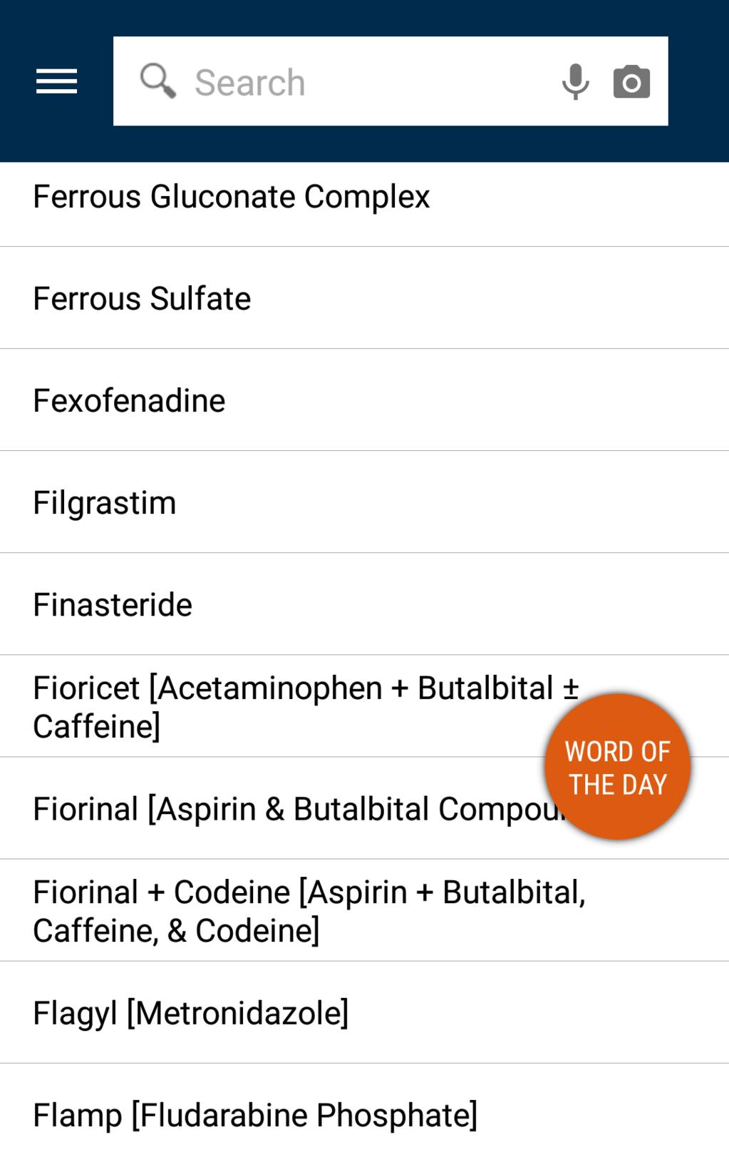 EMS Pocket Drug Guide Screenshot 11
