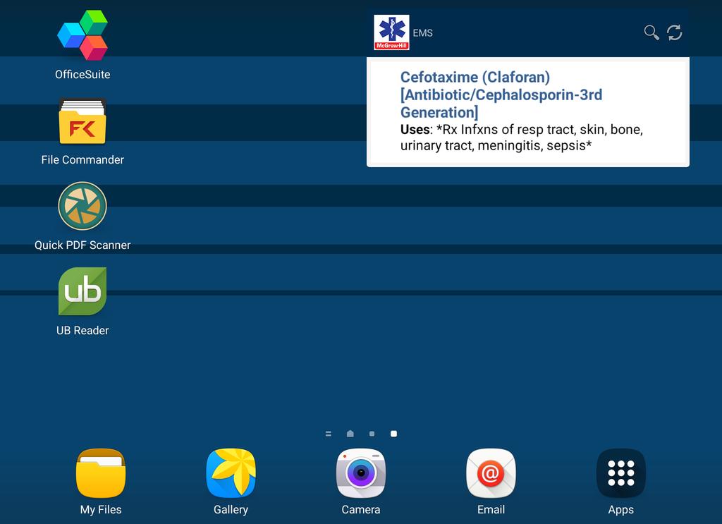 EMS Pocket Drug Guide Screenshot 18