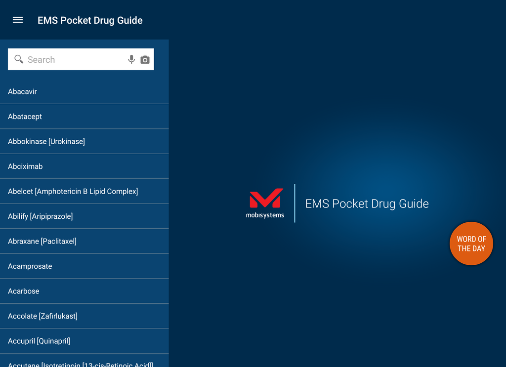 EMS Pocket Drug Guide Screenshot 16