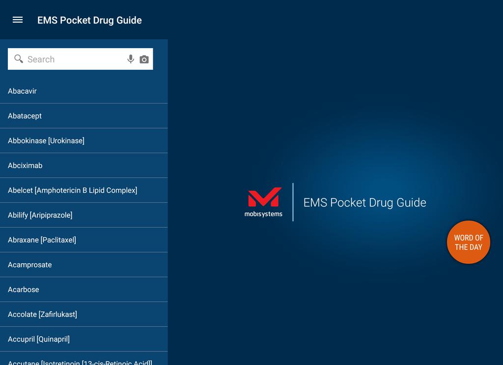 EMS Pocket Drug Guide Screenshot 16