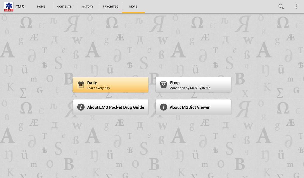 EMS Pocket Drug Guide Screenshot 9
