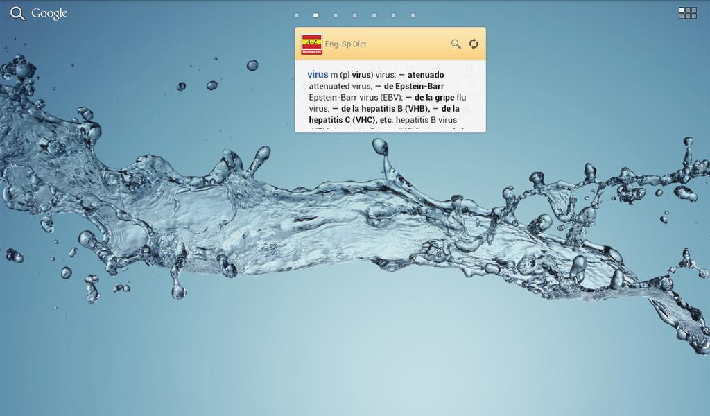 English-Spanish/Spanish-English Medical Dictionary Screenshot 8