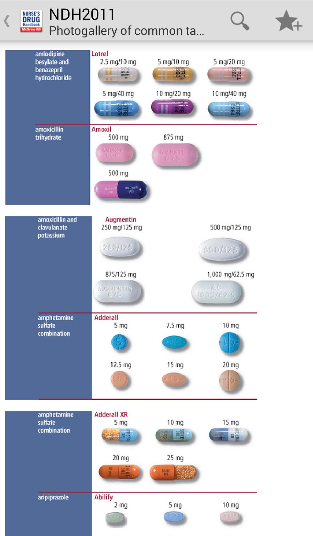 Nurse's Drug Handbook Screenshot 4