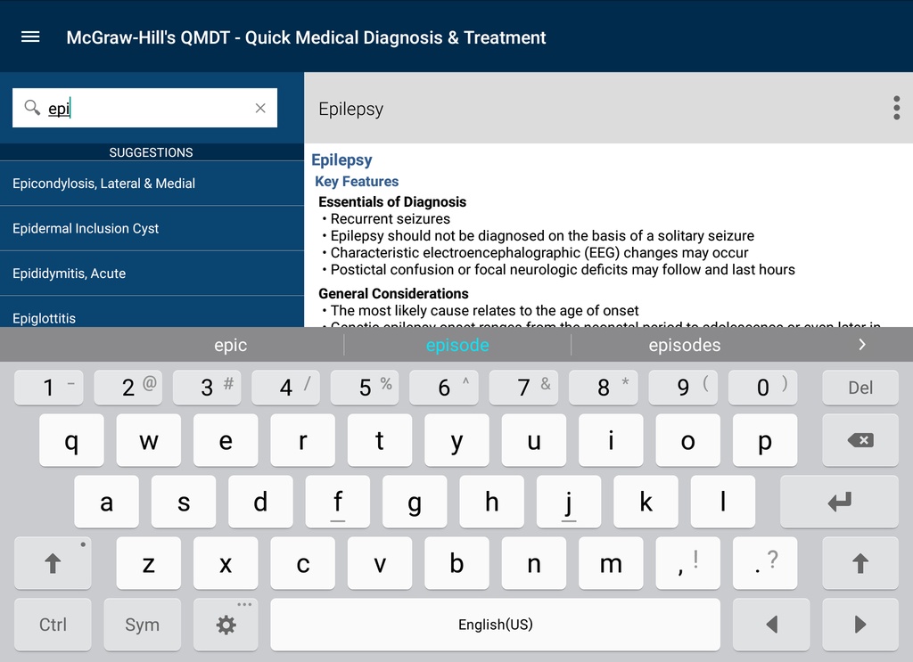 Quick Medical Diagnosis & Treatment Screenshot 15