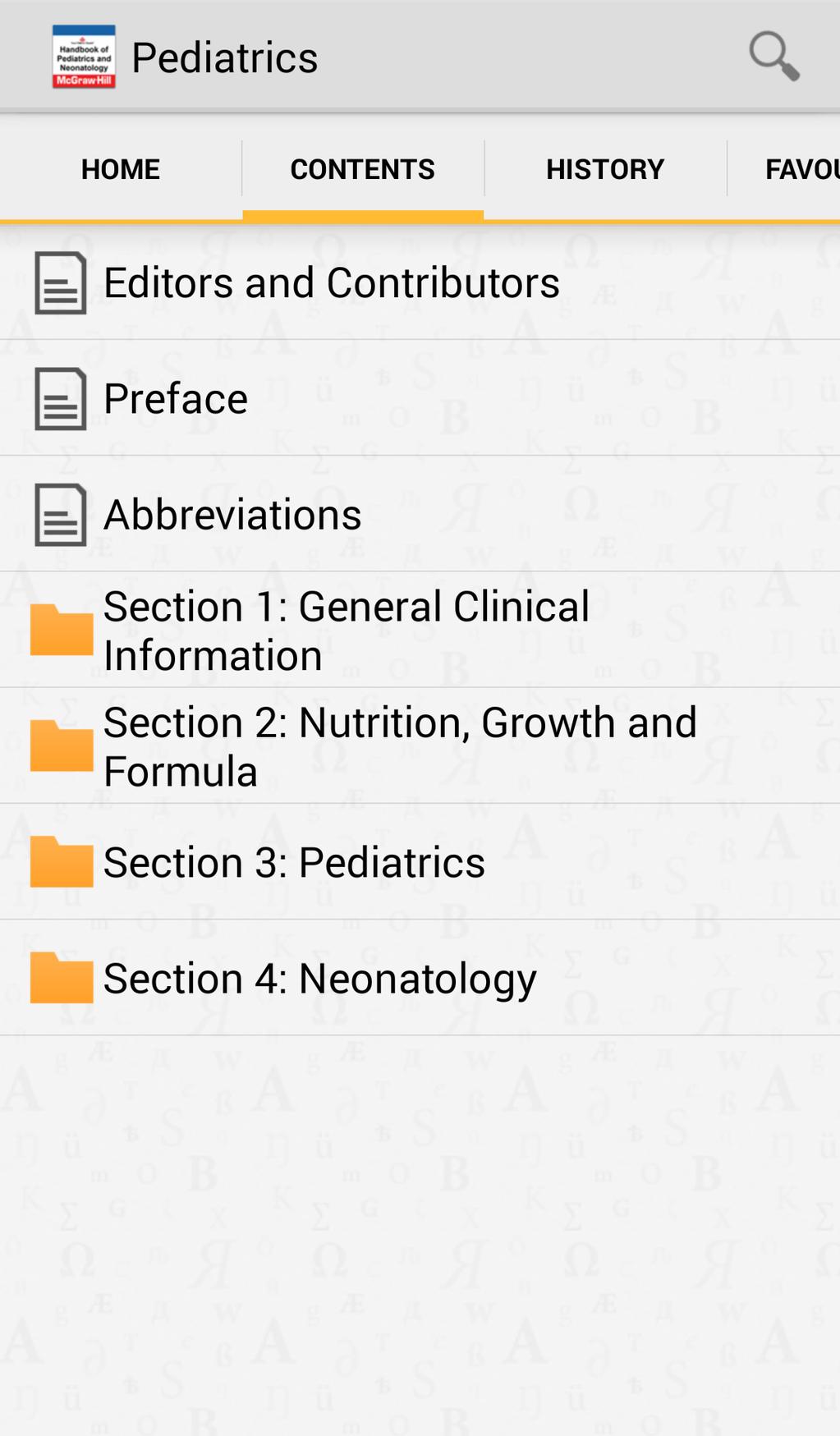 Texas Children's Hospital Handbook of Pediatrics and Neonatology Screenshot 3